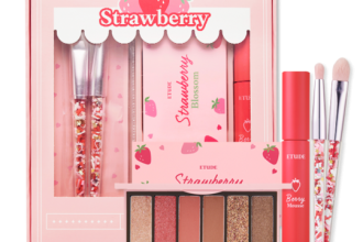etude house strawberry blossom kit